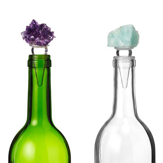Natural Stone Wine Stopper Bottle Wine Bottle Stoppers