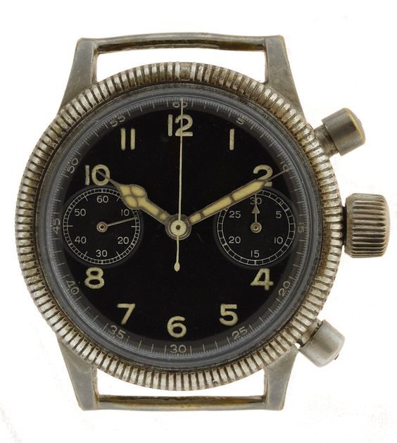 Tutima Glashütte World War II Luftwaffe Pilot's watch ...