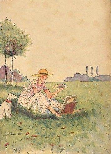 Pécoud femme peintre