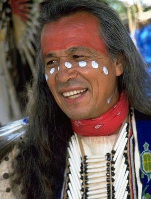 Good looking native american men