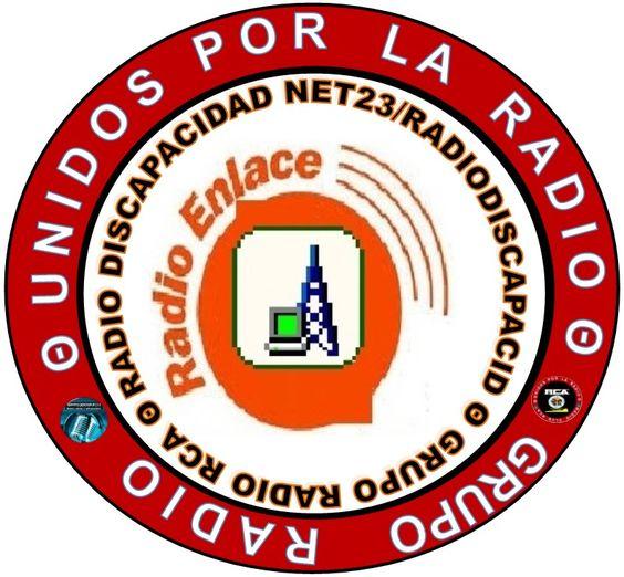 Logo del Radioenlace de Radio Discapacidad Net23/RadioDiscapacid y Grupo Radio RCA
