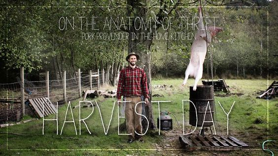 On The Anatomy Of Thrift: Harvest Day by farmrun. The second episode in an instructional series from Farmrun and Farmstead Meatsmith in which we explore the economics of eating animals.