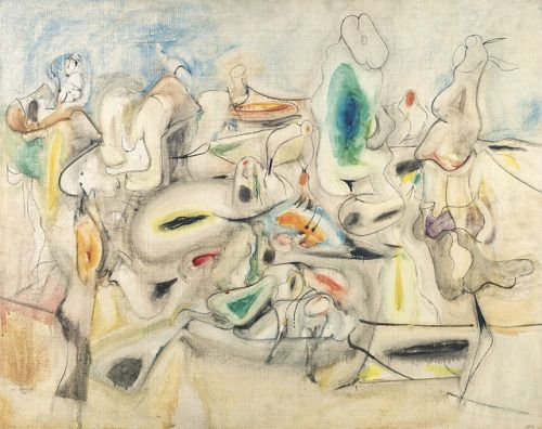 Arshile Gorky Good Afternoon Mrs Lincoln 1944 Art Art