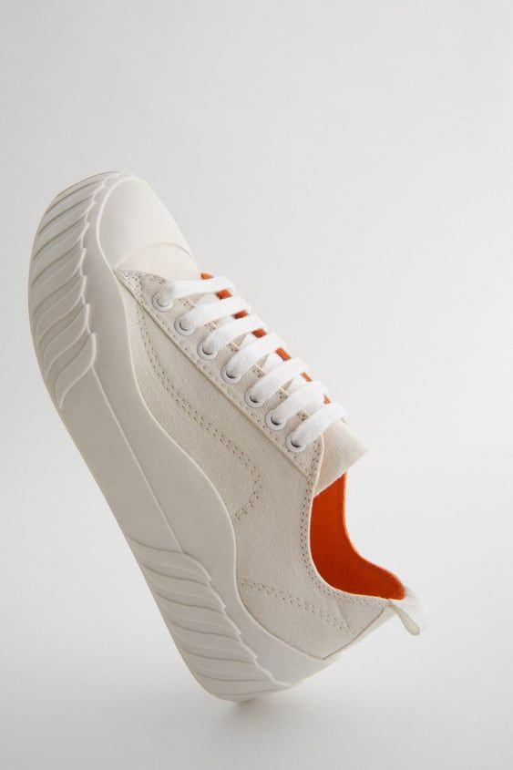Vulcanized Rubber Soled Canvas Sneakers