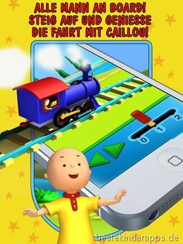 Talking Caillou App Kinder (20)