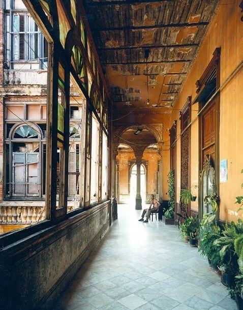 Balcony La Guarida Cuba Andrew Moore Travel Honeymoon