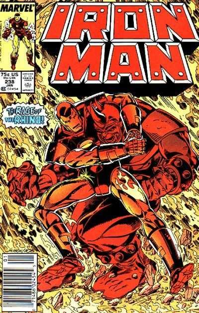 Iron Man #238 - Two Live Or Die In L.A.!