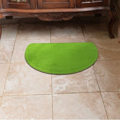 Daniels Bath Luxury Slice Doormat Color Lime Green Kitchenkitchen Matluxury