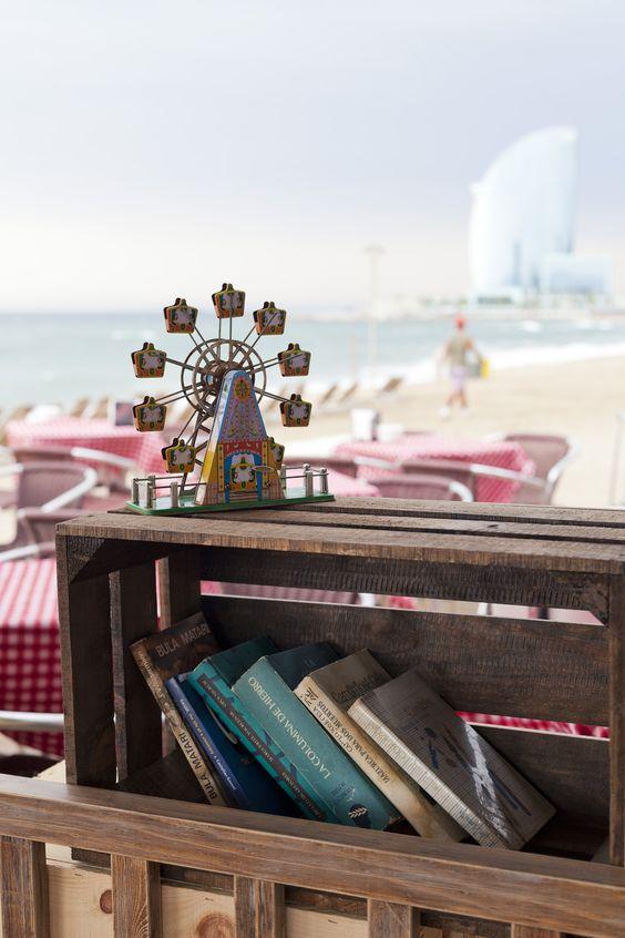Chiringuito La Deliciosa en el corazón de la Barceloneta. #barceloneta #beachbar #cocinamediterranea #afterbeach #summer #gastrobar #chiringuito