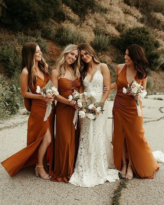 10 Gorgeous Fall Bridesmaid Dress Ideas