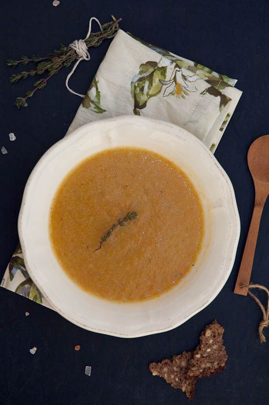 Potage aux legumes rustic french vegetable soup recipe for French starters vegetarian