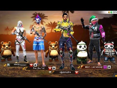 Cobra Squad Is Live Way Heroic To Grandmaster Free Fire Live Youtube Free Characters Free Avatars Download Cute Wallpapers