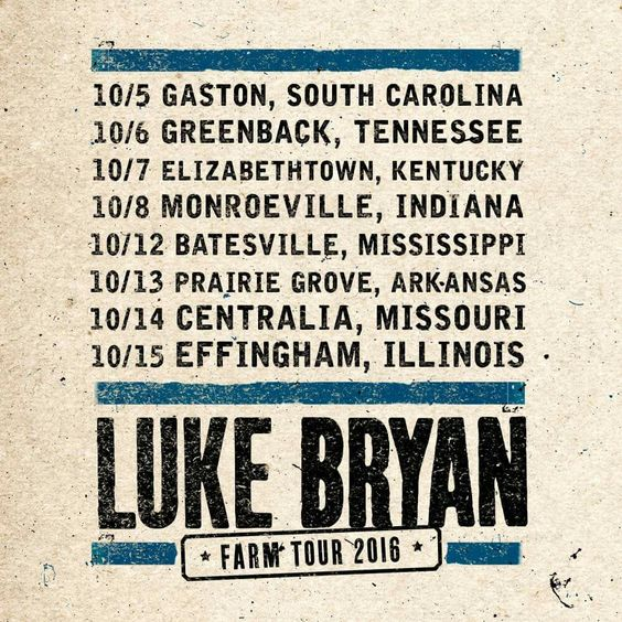 Luke Bryan Farm Tour