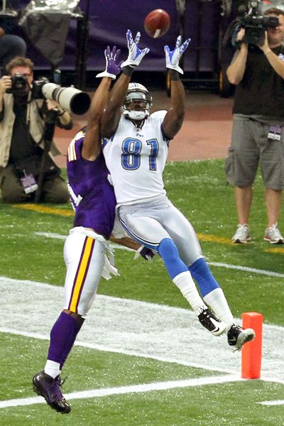 "Even though he's scoring against my team - Calvin ""Megatron"" Johnson"