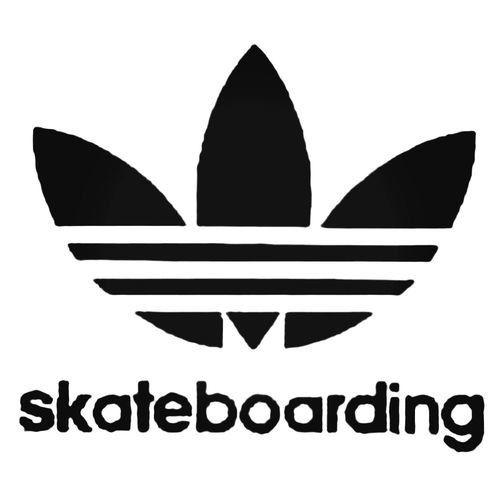 Adidas Skateboarding Leaf Decal Sticker Skateboard Adidas Decals