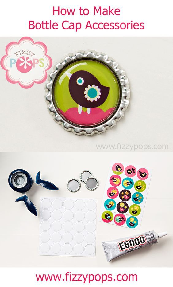 Easy crafts for teens crafts for teens and easy crafts on for How to make bottle cap crafts