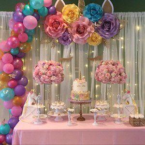 Amira Salem Ha Anadido Una Foto De Su Compra Unicorn Birthday Party Decorations Diy Unicorn Birthday Party Birthday Party Decorations