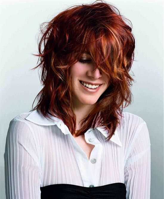 Tremendous Love This Layered Hairstyles And Red Hair On Pinterest Short Hairstyles For Black Women Fulllsitofus