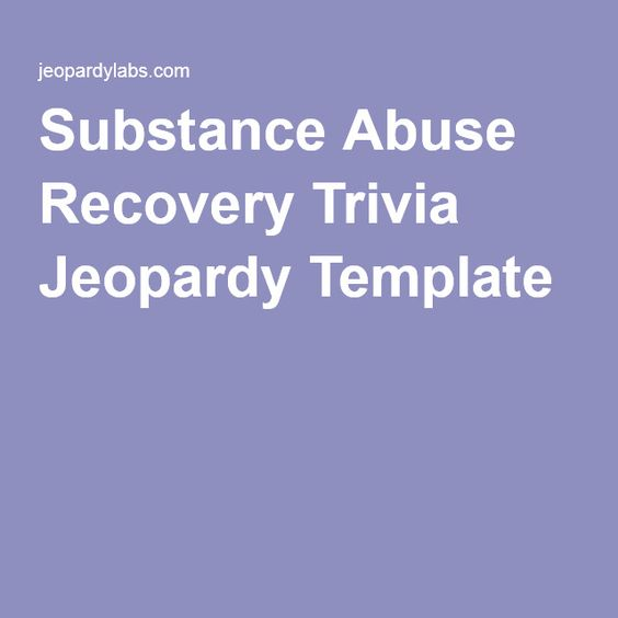 substance abuse recovery essay