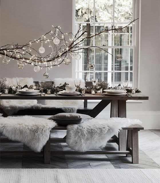 Heading Fast Towards The Festive Season Christmas Dining Room Hygge Decor Christmas Dining Table Decor