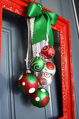 Cute wreath alternative -