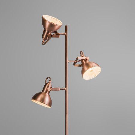 stehleuchte tommy 3 kupfer eine fantastische neue lampe. Black Bedroom Furniture Sets. Home Design Ideas