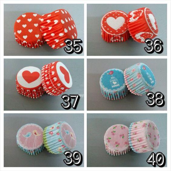 Pirotines Para Cupcakes Fantasías Pack X25 Unidades - $ 12,00 en MercadoLibre