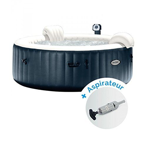 Pack Spa Gonflable Intex Pure Spa Plus Bulles 4 Personnes
