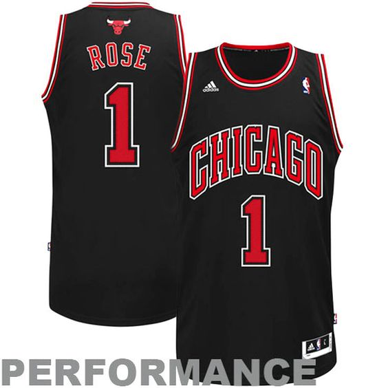 derrick rose alternate swingman jersey