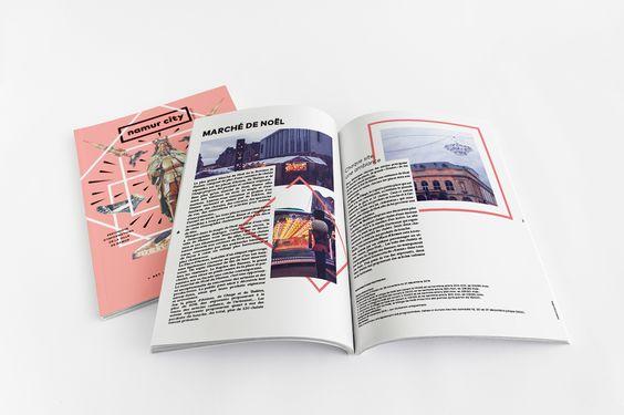 Projet scolaire de réalisation d'un magazine culturel de la ville de Namur.