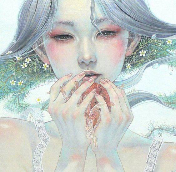 Miho Hirano es un artista japonés que vive en Abiko, Chiba. Se graduó de la Universidad de Arte Musashino. Su arte de la fantasía está hab...