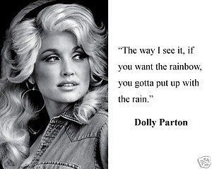 Cool Quote Dolly Parton Quotes Rainbow Quote Dolly Parton