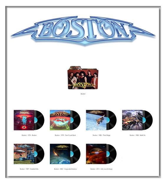 Album Art Icons: Boston