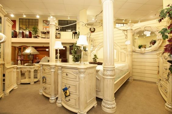 Aico bedroom set colleen 39 s classic consignment las for Bedroom furniture 89117