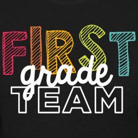 First Grade Team   Playful   Women's Classic   Teacher T-Shirts