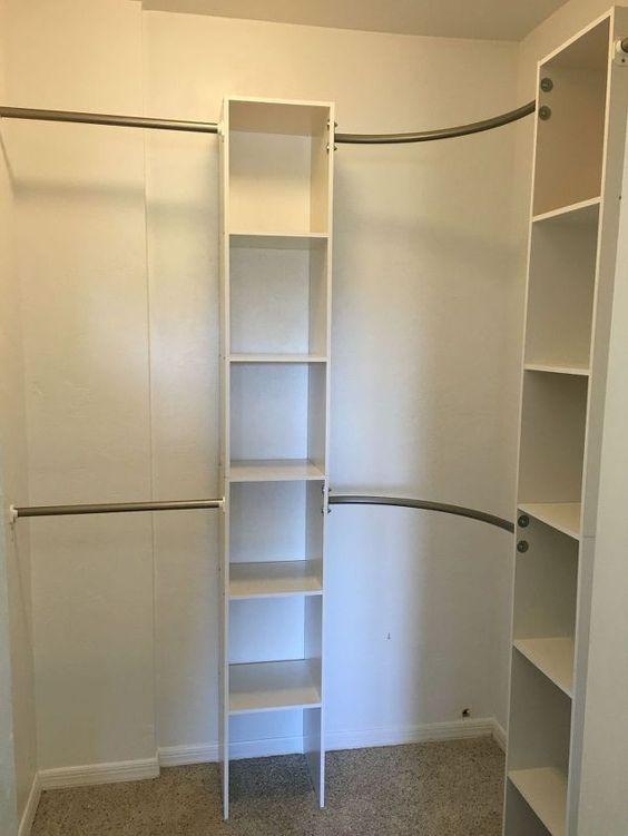 corner closet diy pandora closet bar and bar
