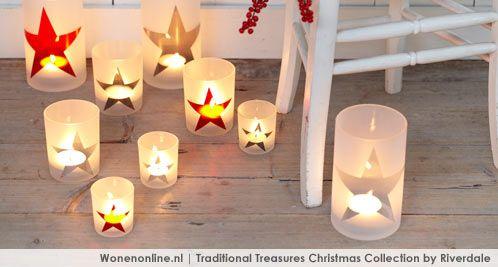 Geniet van alle waardevolle kersttradities met de collectie Traditional Treasures. Met accessoires in appeltjesrood, sneeuwwit, sprankelend zilver en een vleugje goud creëert u een sfeer die warmte en knusheid ademt. Stijlvol en nooit uit de mode. http://www.wonenonline.nl/woonwinkelen/kerstshop-riverdale/