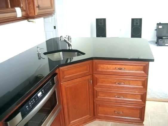 kitchen cabinets corner sink compact