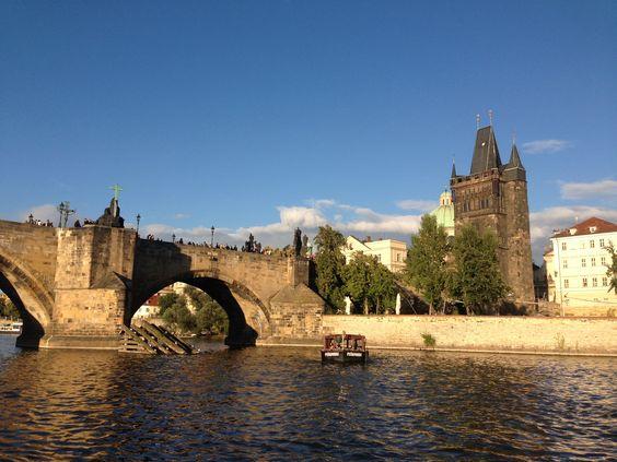 Prague.. on the boat.  #Prague
