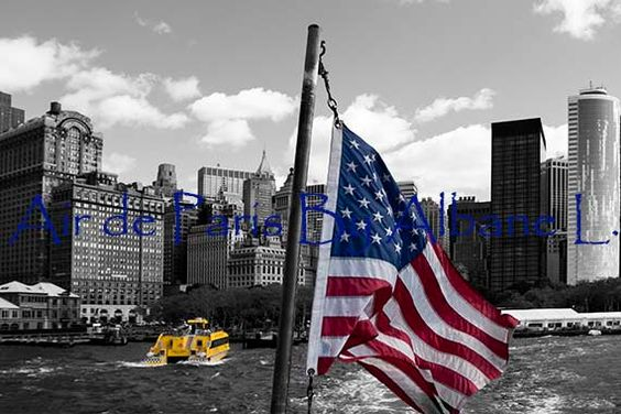 New York black and white photography with by UnAirDeParisByAlbane