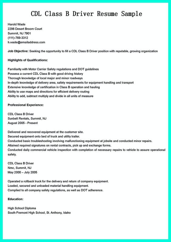 Interested in becoming a Bus Driver? Check out this Bus Driver - school bus driver resume sample