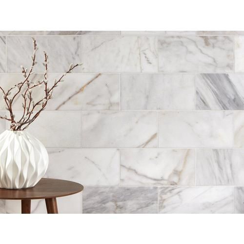 Ocean White Polished Marble Tile Polished Marble Tiles Marble Tile White Marble Tiles