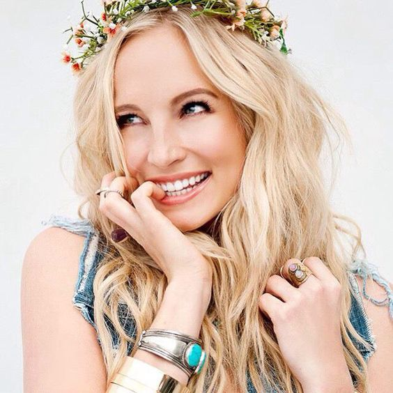 """{Candice Accola} """"Hi! I'm Max. I'm twenty one and single. I'm a wild child, or a hippie, in other words. I love being different and standing out in the crowd. I'm outgoing and bubbly,and I'll try to make your day.. I promise!"""""""