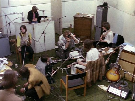 Let It Be Sessions (24 January 1969) Photo / © Apple Corps Ltd.