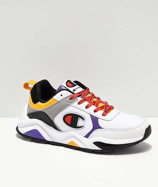 Champion shoes, Purple sneakers