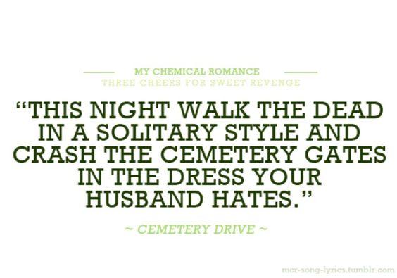 Cemetery Drive - My Chemical Romance