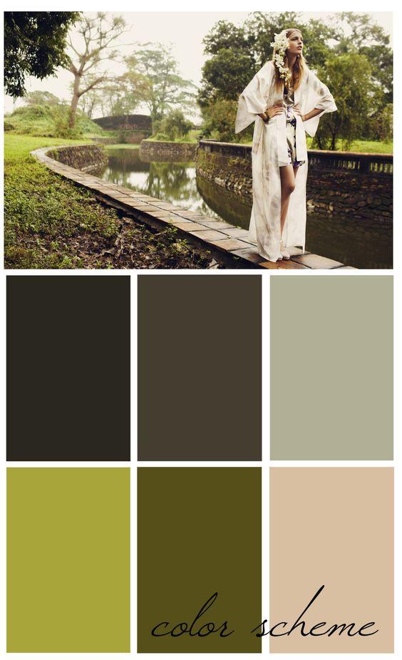 natural color palettes - Google Search