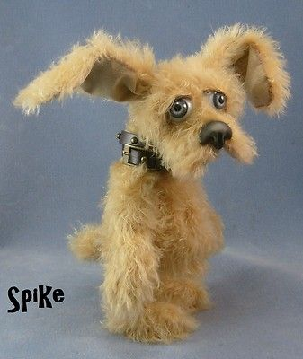 *SPIKE* 10 Inch, OOAK,ARTIST BEAR(puppy=), KARA'S BEARS Layaway available