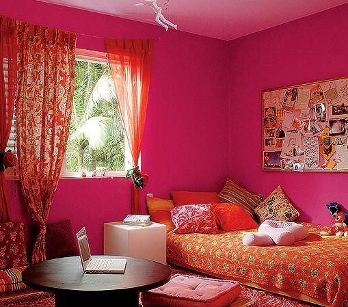 paredes de sala pintadas de rosa - Pesquisa Google