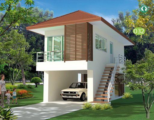 แบบบ าน 2 ช น โมเด ร น เก ๆ ราคาประหย ดงบ 6 แสน ในป 2021 การออกแบบบ านหล งเล ก สร างบ าน ภายนอกบ าน